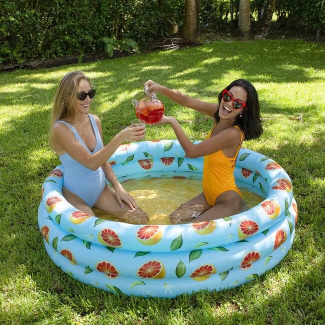 Inflatable Sunning Pool, Grapefruit