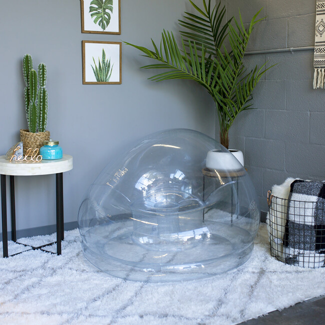 Inflatable Chair, Clear