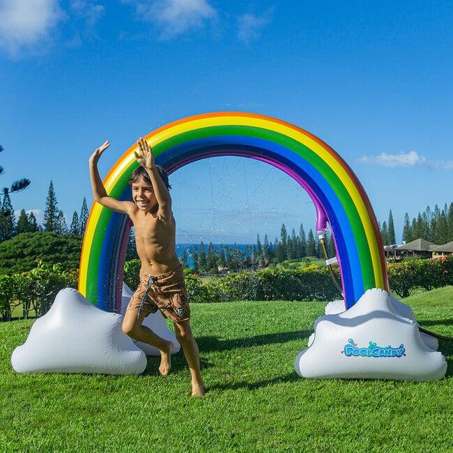 Giant Inflatable Rainbow Sprinkler
