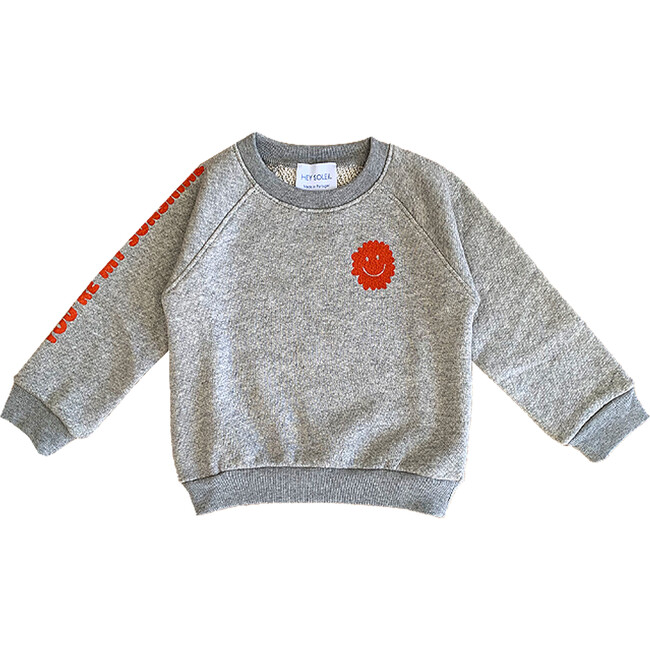 Sunshine Sweatshirt, Grey