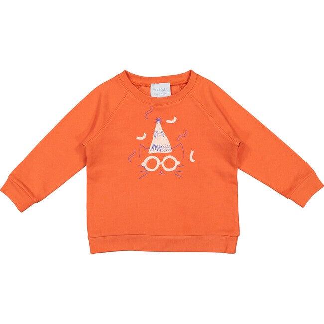 Party Animal Sweatshirt, Red