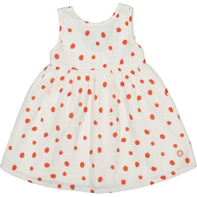 Confetti Dress, Ecru