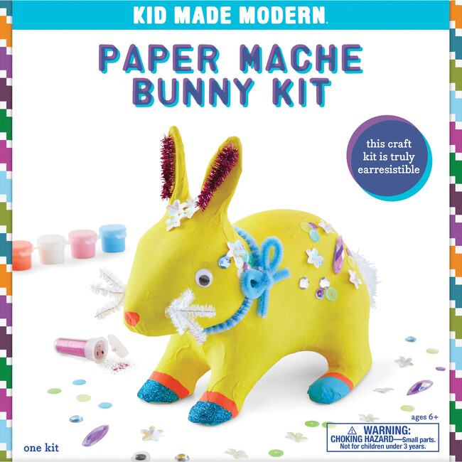 Paper Mache Kit, Bunny