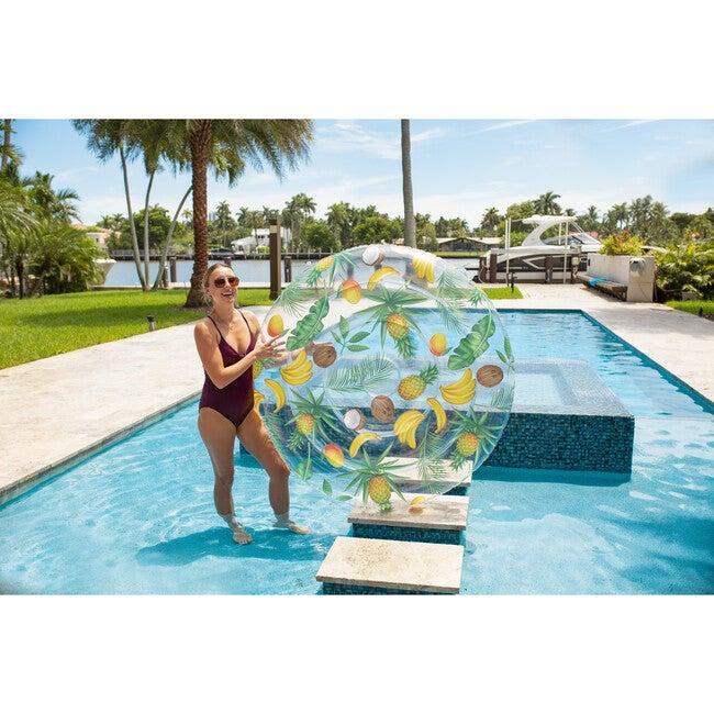 """Tropical Fruit Jumbo Island 60"""" Inflatable Floating Raft"""