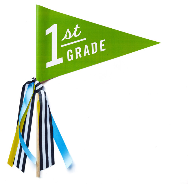 First Day of 1st Grade Banner - Paper Goods - 1