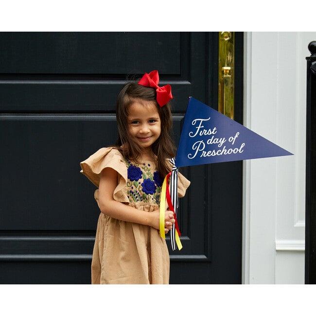 First Day of Preschool Banner