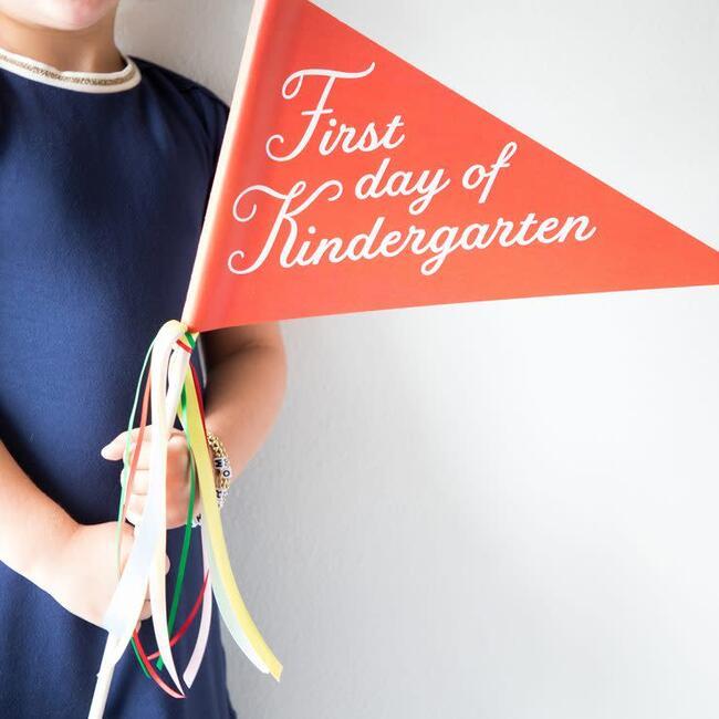 First Day of Kindergarten Banner