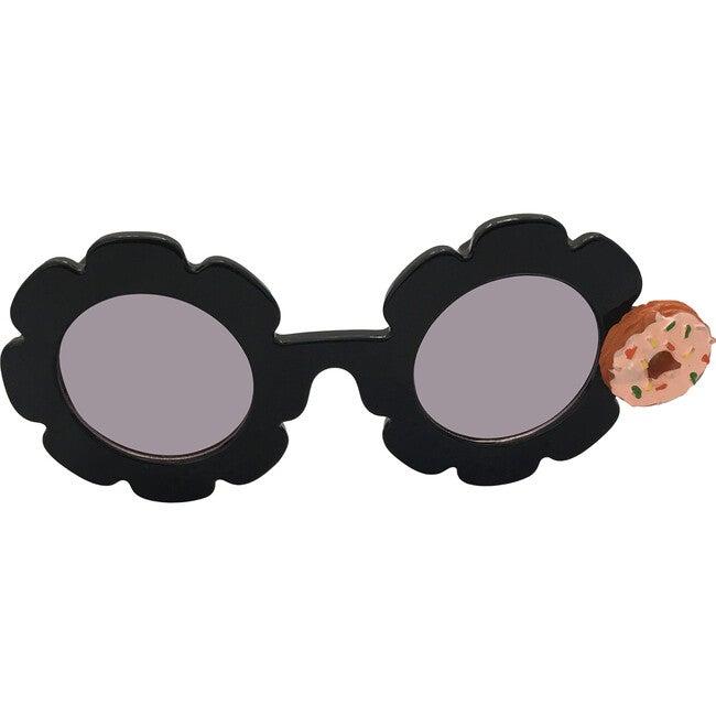 Donut Monogrammable Sunglasses, Black