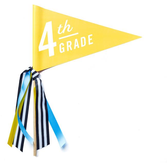 First Day of 4th Grade Banner!
