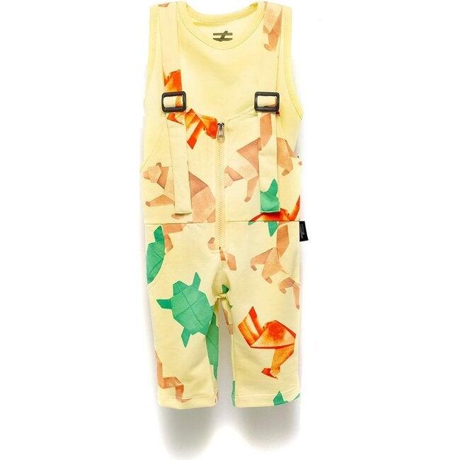 Suspender Overalls, Yellow