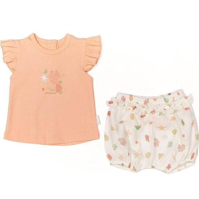 Starfish & Friends Cotton Set, Pink