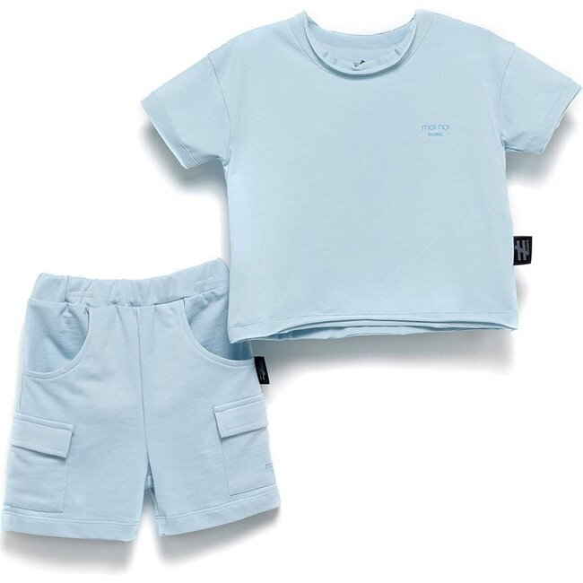 Basic Summer Outfit, Blue