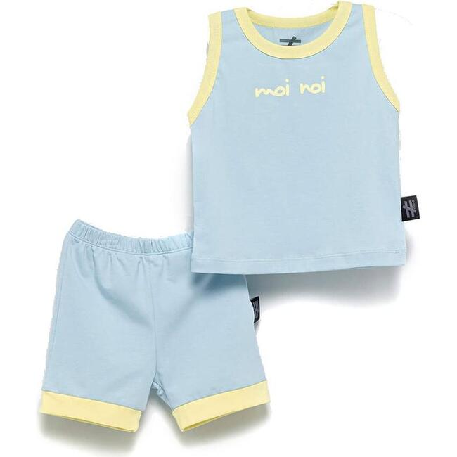Athletic Outfit Set, Blue
