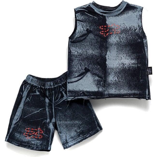 Brushed Outfit Set, Black