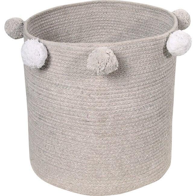 Bubbly Baby Basket, Grey