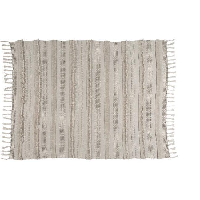 Air Knitted Blanket, Dune
