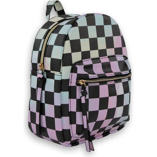 Winnie Mini Backpack, Checker