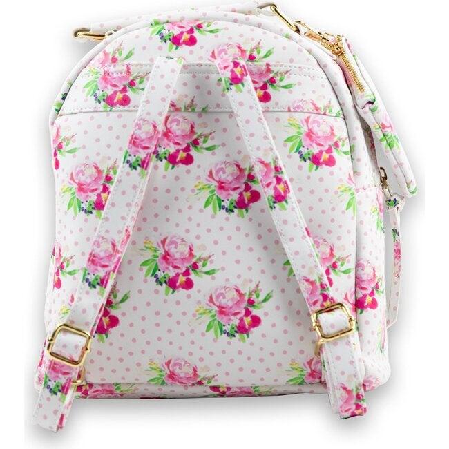 Serena Mini Backpack, Polka Dot Floral