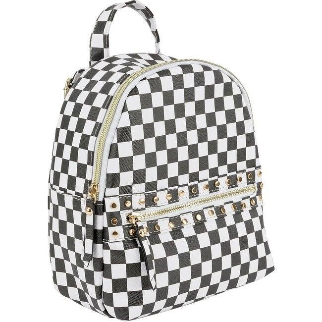 Georgia Mini Backpack, Checker