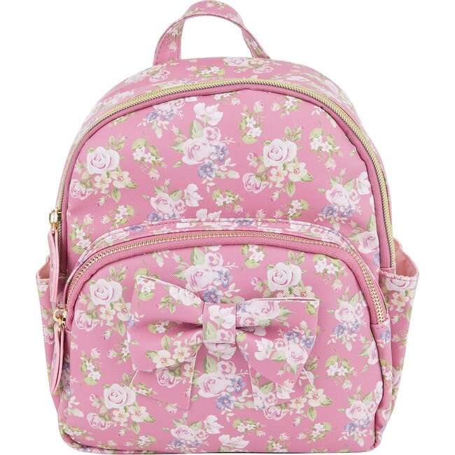 Elizabeth Mini Backpack, Rosino Rosa - Bags - 1