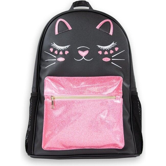 Charlotte Backpack, Black Cat - Bags - 1