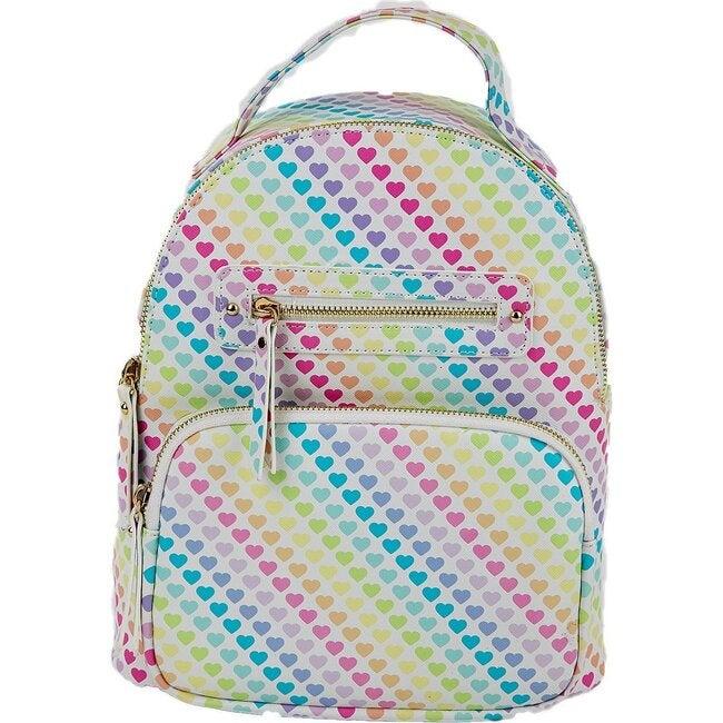 Blake Mini Backpack, Heart Ombre