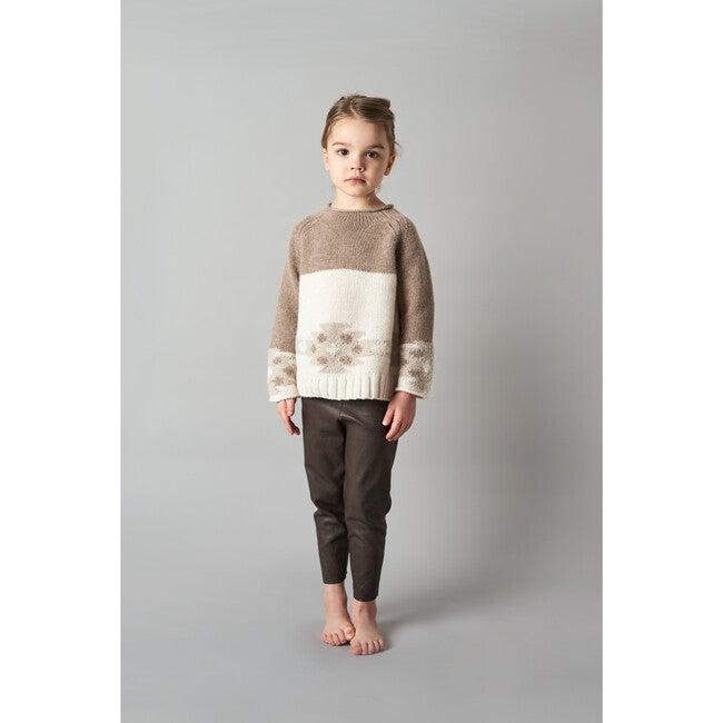 Intarsia Sweater, Multi