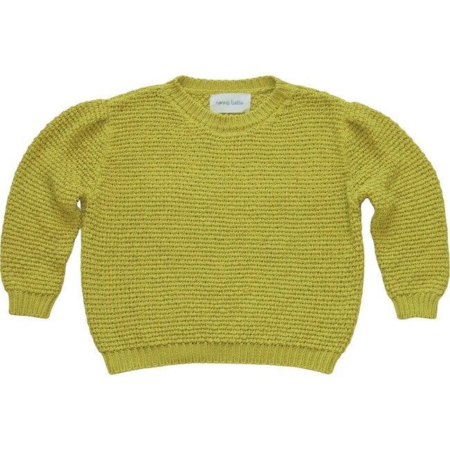 Women's Cotton Sweater, Golden Yellow