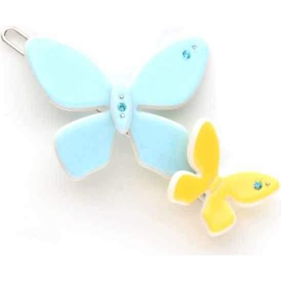 Acrylic Butterfly Clip, Blue