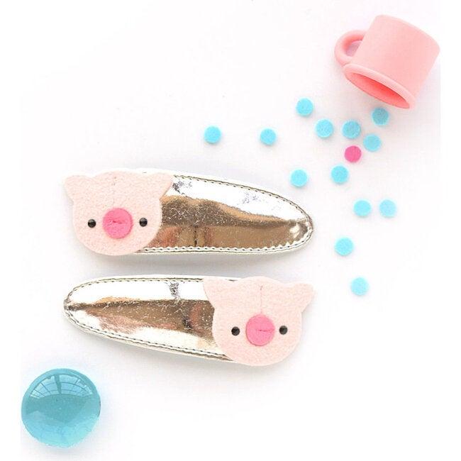 Piggie Clips, Gold