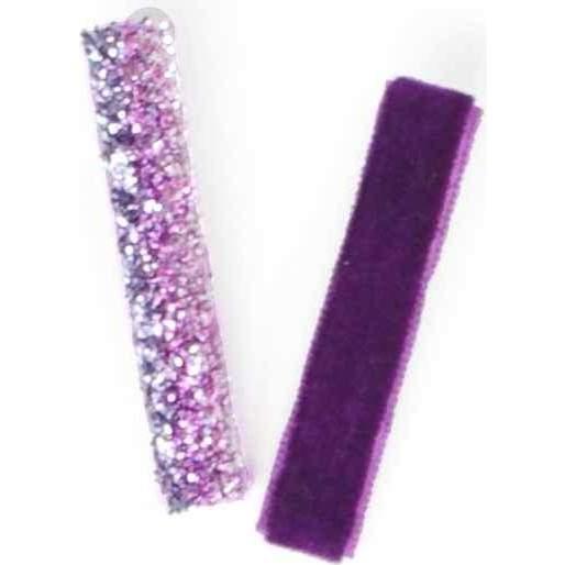Velvet Glitter Duo, Purple