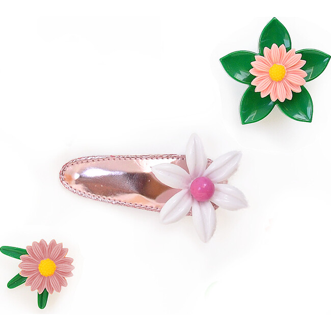 Daisy Clip, Pink