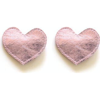 Big Heart Clips, Pink