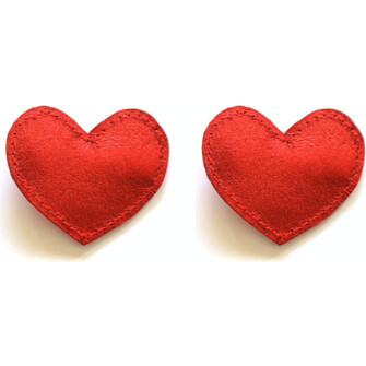 Big Heart Clips, Red