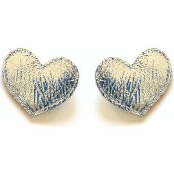 Big Heart Clips, Silver