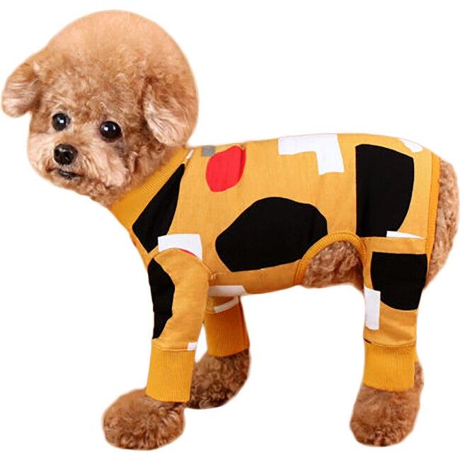 Co Mustard Dog Onesie