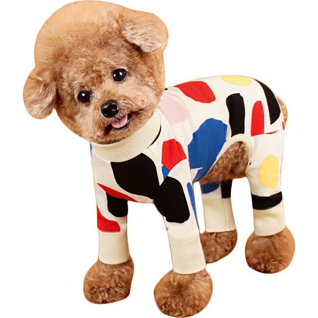 Co Ivory Dog Onesie