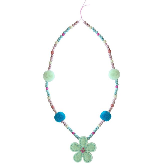 Jasmine Necklace, Green