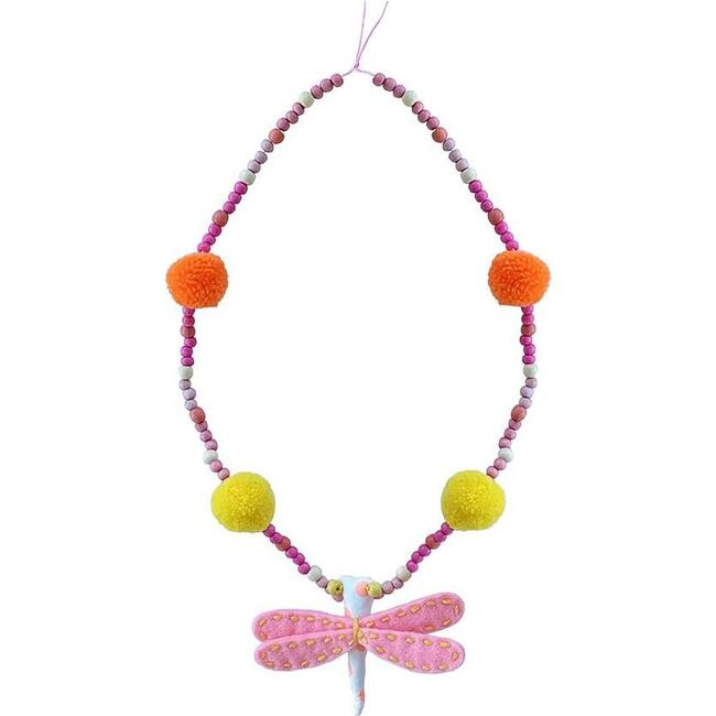 Dragonfly Necklace, Multi