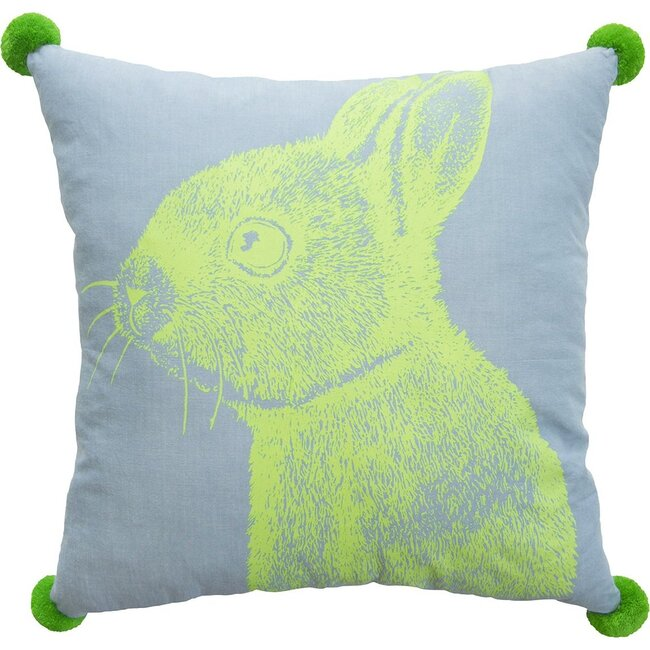Bunny Pillow Blu, Multi