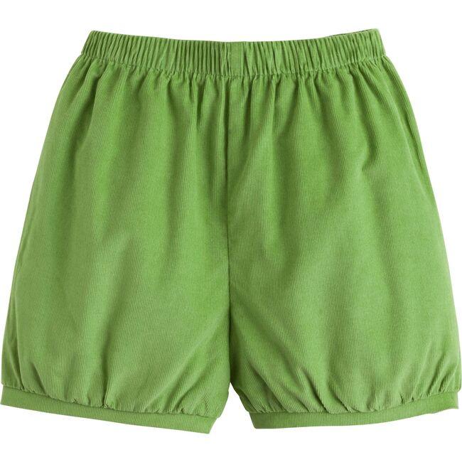 Banded Short, Sage Green Corduroy