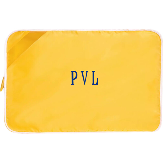 Monogrammable Packing Cube Quad, Canyon Yellow