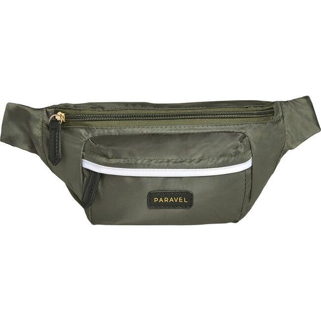 Monogrammable Fanny Pack, Safari Green - Bags - 1