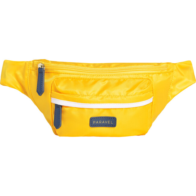 Monogrammable Fanny Pack, Canyon Yellow