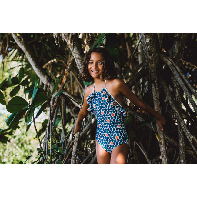 Linda One Piece, Tropical Leaves
