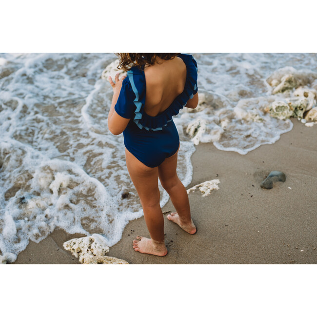 Carlotta Swimsuit, Night Blue