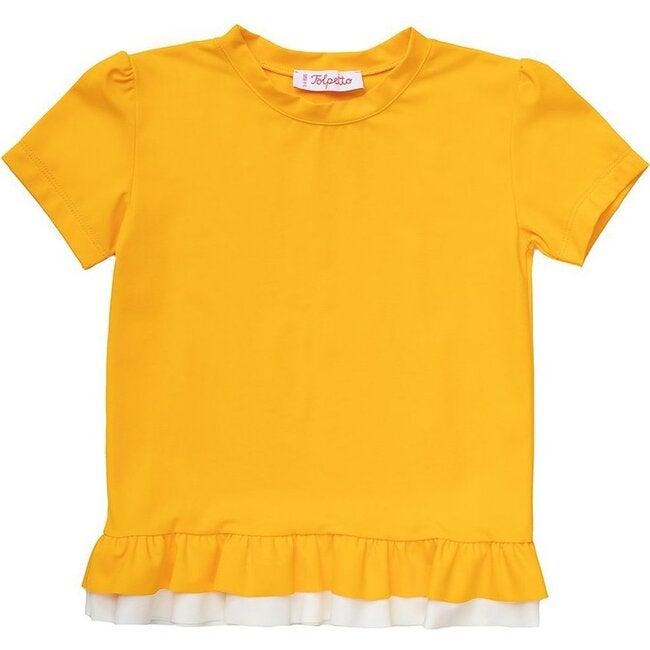 Lilia Rashgaurd, Mango Yellow/Ivory