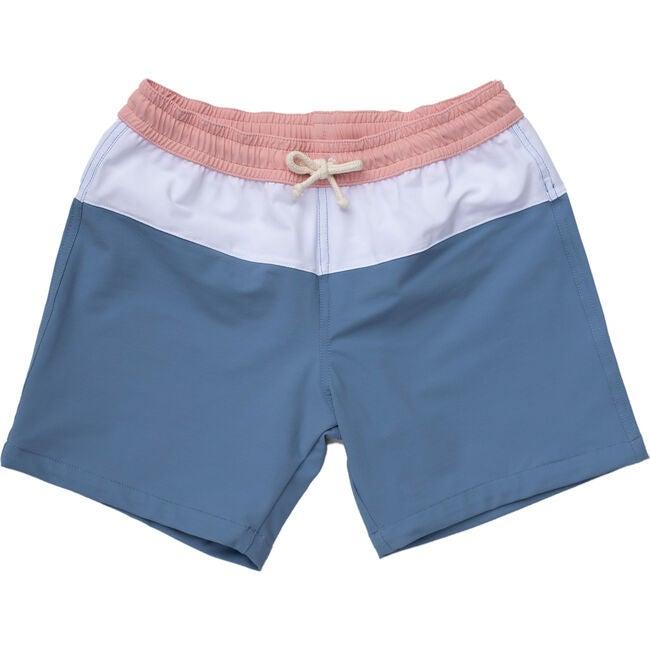 Harry Swimshorts, Pink/Light Blue
