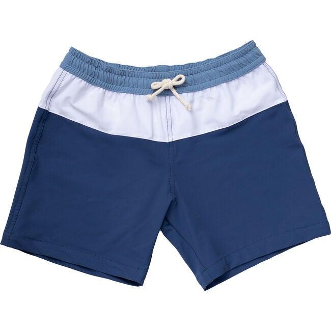 Harry Swimshorts, Blues - Swim Trunks - 1
