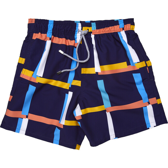 Men's Ede Swim Trunks, Long